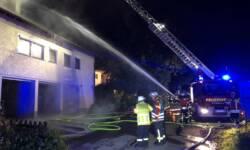 Wohnungsbrand Roggenbeuren