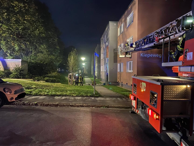 Kellerbrand in Westerfilde