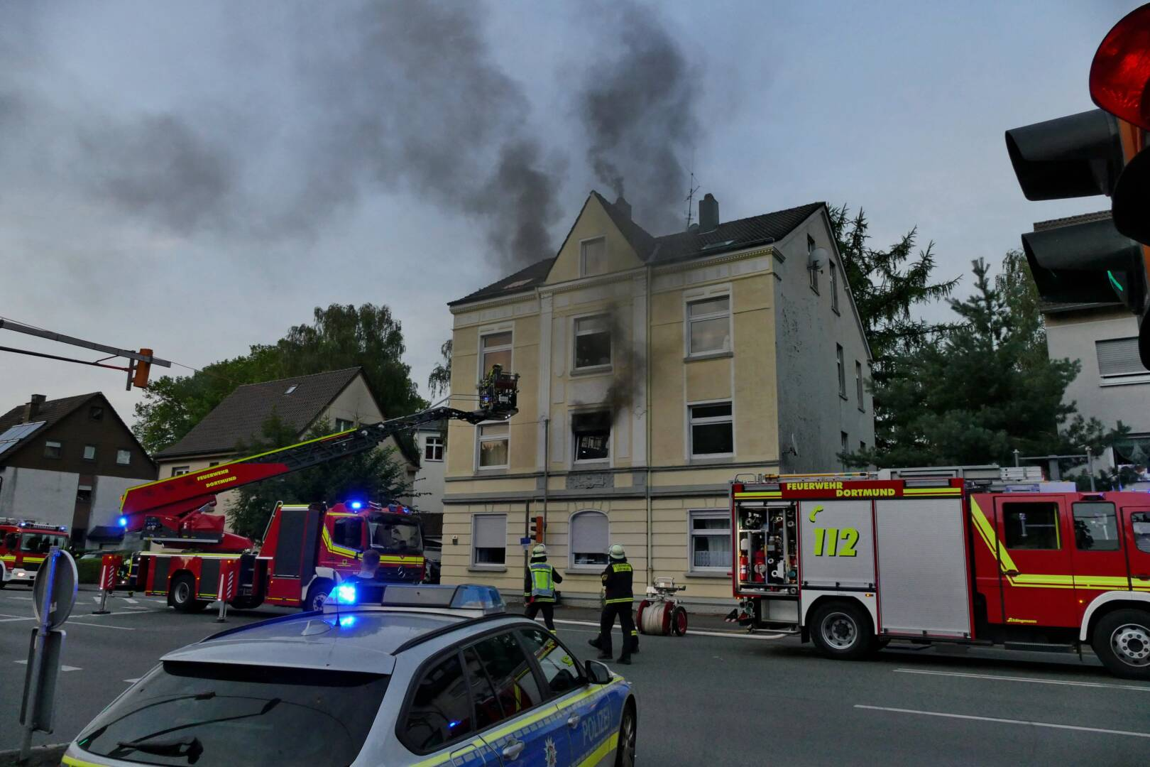 Wohnungsbrand in Lütgendortmund