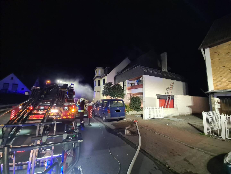 Feuerwehren aus dem Stadtgebiet Lehrte retten mehrere Menschen