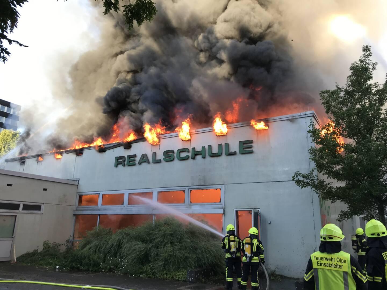 Brand der Realschule