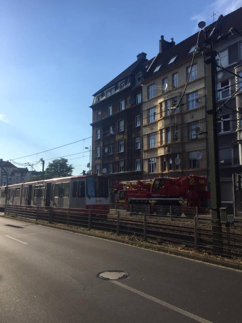 Kran bei Stadtbahn