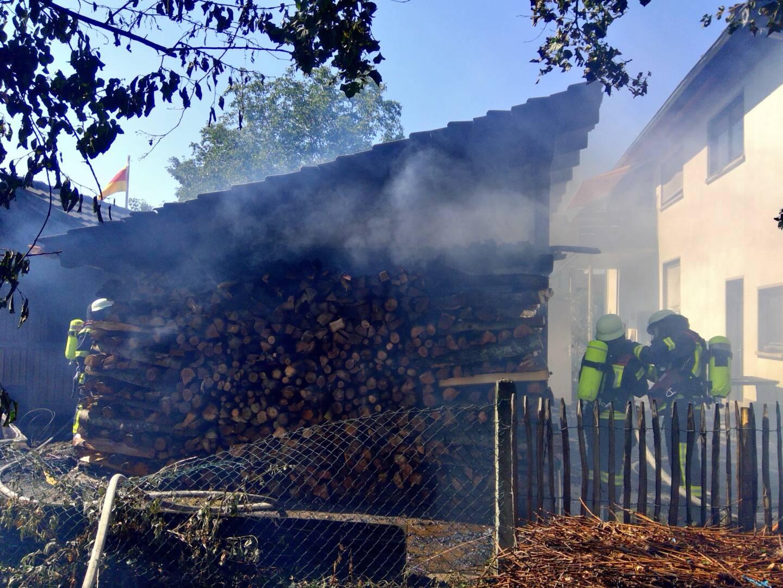 Gebäudebrand in Offenburg