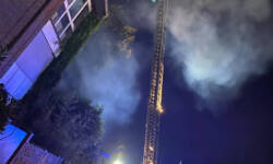 Dachstuhlbrand in Rösrath
