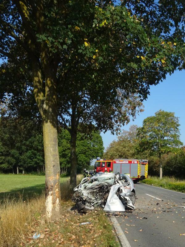 Verkehrsunfall in Sonsbeck