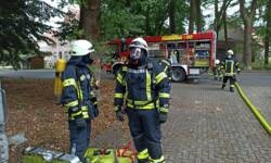 Verletzte nach Brand auf forensischer Station