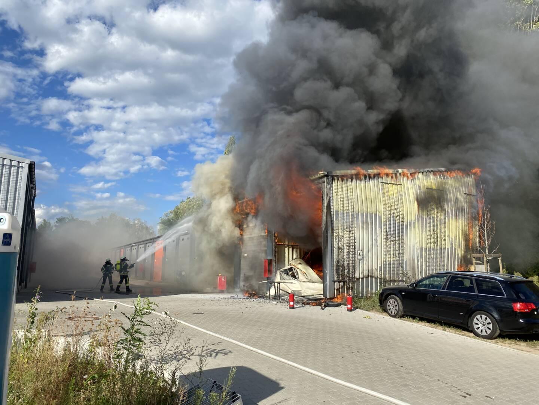 Brandbekämpfung in Offenburg