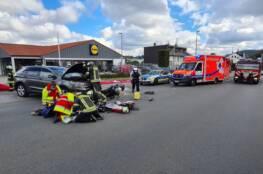 Verkehrsunfall auf der Rosendahler Straße