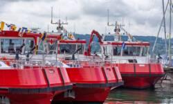 Neues Feuerlöschboot