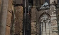 Personenrettung vom Kölner Dom