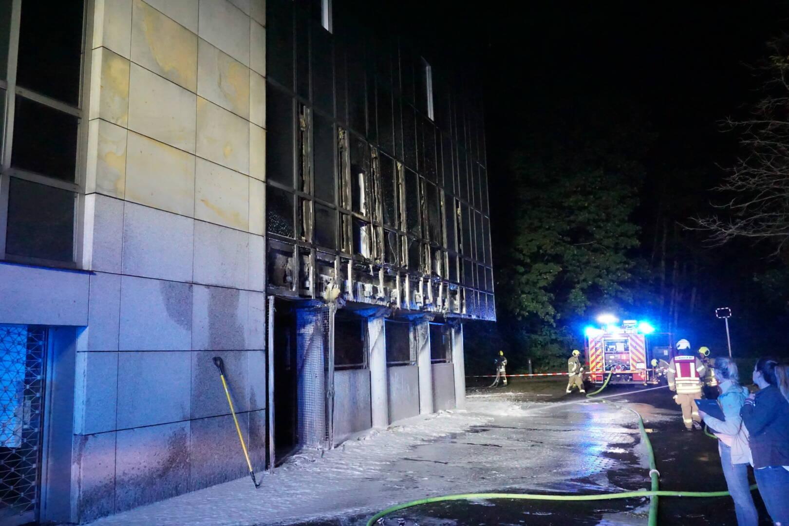Umfangreiche Schäden durch Brandeinwirkung